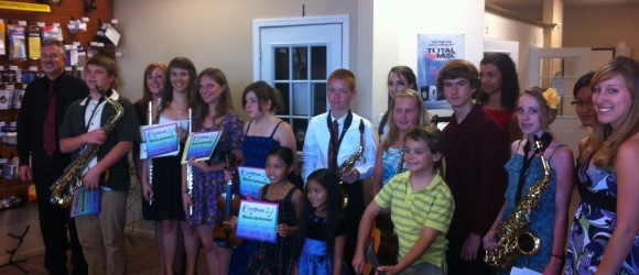 Master Musician Recital 8-2012 Group Photo